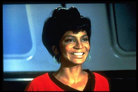 Uhura Smiling